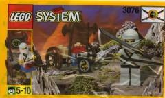 Lego 3076 White Ninja