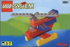 Lego 3081 Helicopter