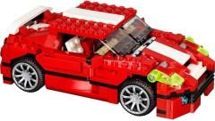 Лего 31024 Красный мощный автомобиль