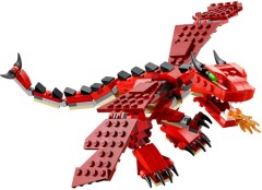 Лего 31032 Огнедышащий дракон