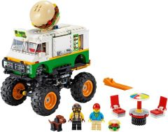 Burger Monster Truck