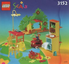 Lego 3152 Playroom for the Baby Thomas
