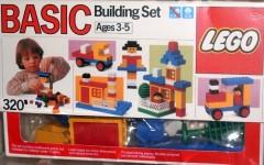 Lego 320 Basic Building Set, 3+