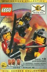 Lego 3345 Three Minifig Pack - Ninja #2