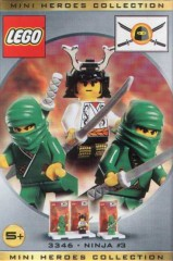 Lego 3346 Three Minifig Pack - Ninja #3