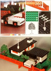 Lego 345 House with Mini Wheel Car