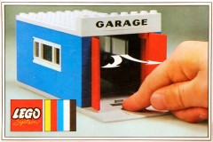 Lego 348 Garage with Automatic Doors