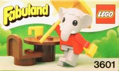 Lego 3601 Elton Elephant