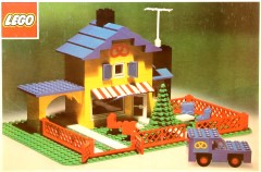 Lego 361 Tea Garden Cafe
