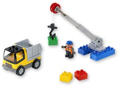 Lego 3611 Road Worker Truck