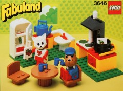 Lego 3646 Catherine Cat in her Kitchen