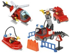 Lego 3657 Fire Fighters