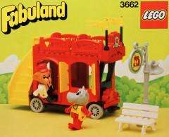 Lego 3662 Double-Decker Bus