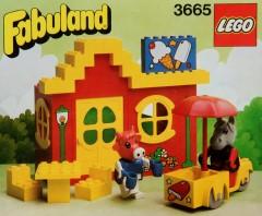 Lego 3665 Harry Horse and Clara Cow
