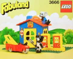 Random set of the day: Billy Bear and Mortimer Mouse's  Service Station