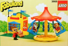 Lego 3668 Merry-Go-Round with Ticket Booth