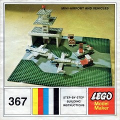 Lego 367 Mini Airport and Vehicle