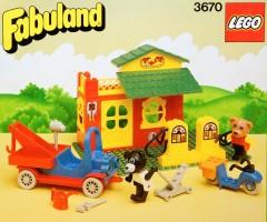 Lego 3670 Service Station