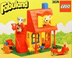 Lego 3674 Bonny Bunny