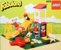 Lego 3676 Cathy Cat's Fun Park
