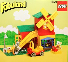 Lego 3679 Flour Mill and Shop