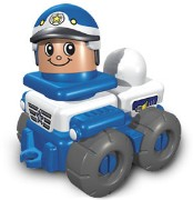 Lego 3698 Friendly Police Car
