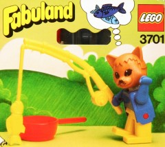 Lego 3701 Charlie Cat the fisherman