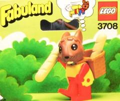 Lego 3708 Rufus Rabbit