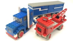 Lego 371 Motorized Truck Set