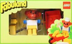 Lego 3714 Workman and Barrow