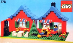 Lego 376 House with Garden