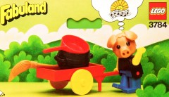 Lego 3784 Hugo Hog the Tinker