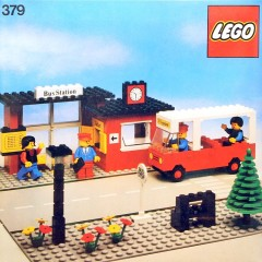 Lego 379 Bus Station
