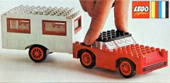 Lego 379 Car and Caravan