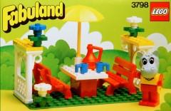 Lego 3798 Hannah Hippopotamus on a Picnic