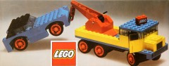 Lego 382 Breakdown Truck and Car
