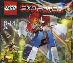 Lego 3871 White Flyer