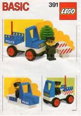 Lego 391 Police Car