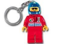 Lego 3915 Race Car Driver Key Chain