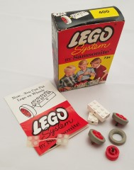 Lego 400 Small Wheels with Axles