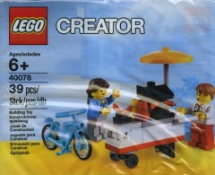 Lego 40078 Hot Dog Stand