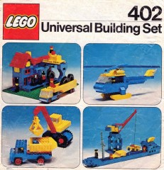 Lego 402 Building Set, 6+
