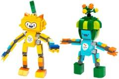 Lego 40225 Rio 2016 Mascots