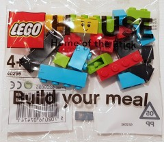 Lego 40296 LEGO House Build Your Meal Brick Bag