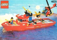 Lego 4031 Firefighter