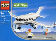 Lego 4032 Holiday Jet (Malaysian Air Version)
