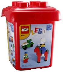Lego 4105 Red Bucket