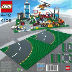 Lego 4109 Road Plates, Curved