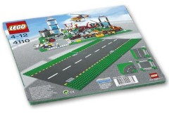 Lego 4110 Road Plates, Straight