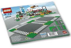 Lego 4111 Road Plates, Cross